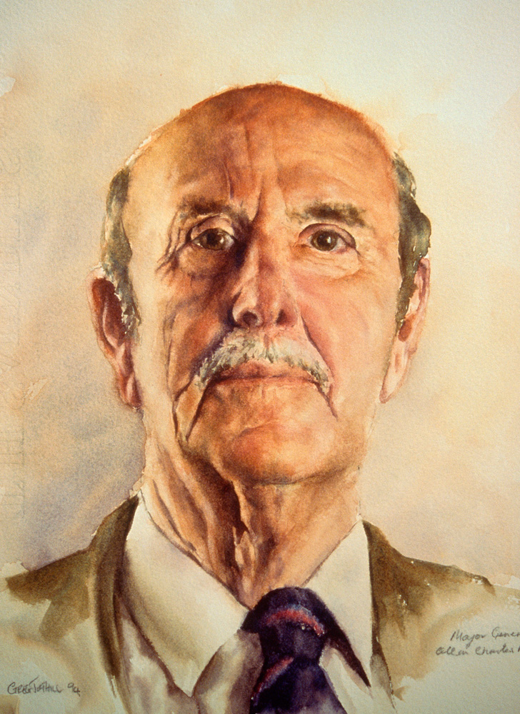 Alan | Watercolour on paper, 400mm x 220mm